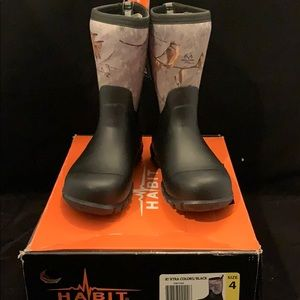 Realtree Xtra Scent Factor Slip On Camo Boots